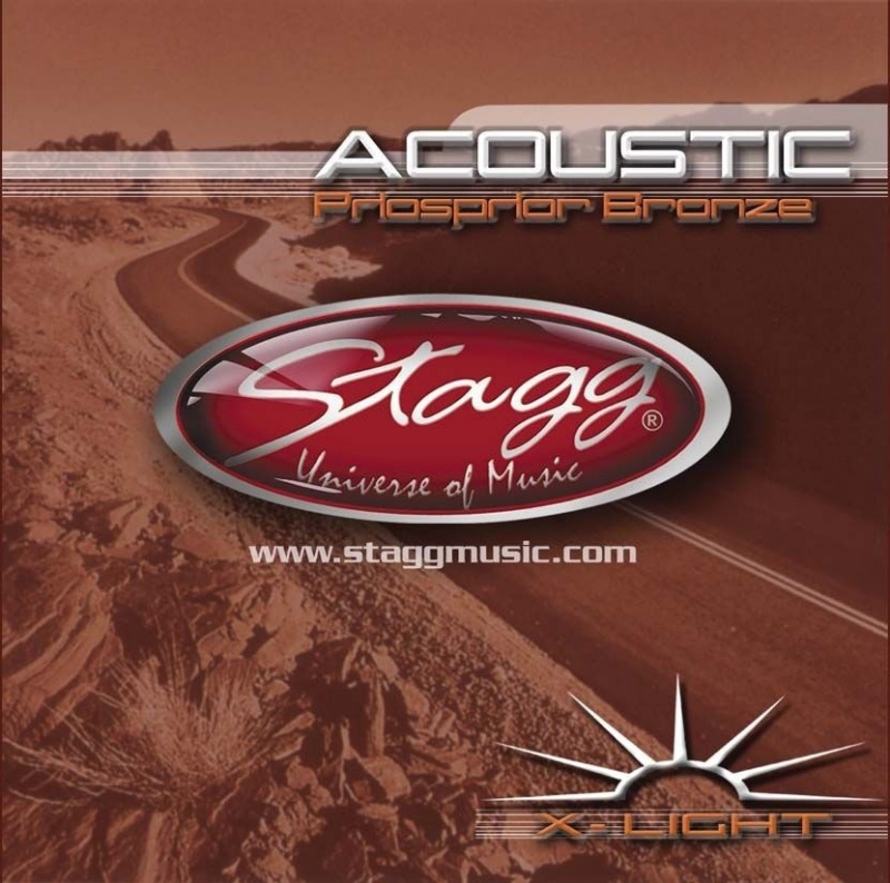 Струны для акустической гитары STAGG AC-12ST-BR