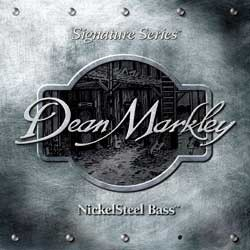 Струны для  бас-гитары DEAN MARKLEY 2606A Nickelsteel Bass MED