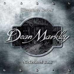 Струны для  бас-гитары DEAN MARKLEY 2606B Nickelsteel Bass MED5
