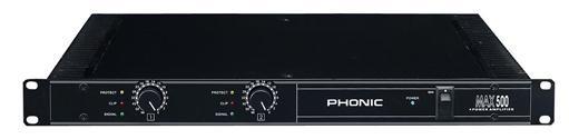Усилитель мощности Phonic MAX500
