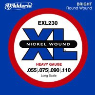 Струны для бас-гитары D'ADDARIO EXL230 XL Heavy 4str