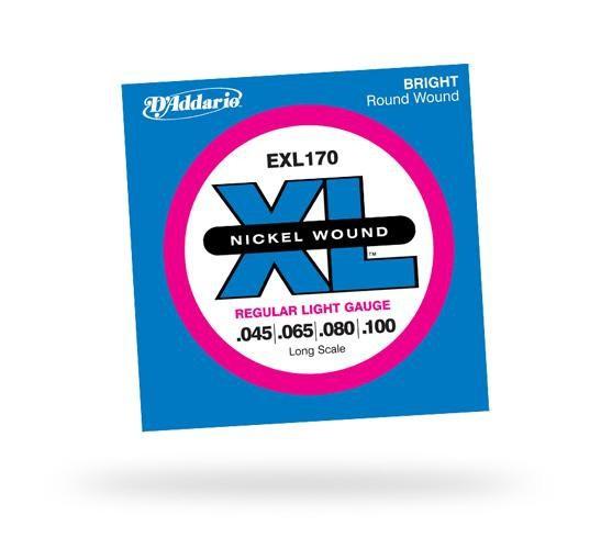 D'ADDARIO EXL170 XL Regular Light 4str