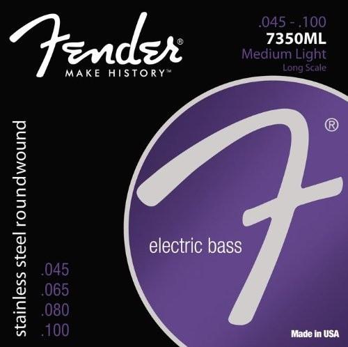 Струны для  бас-гитары FENDER 7350ML