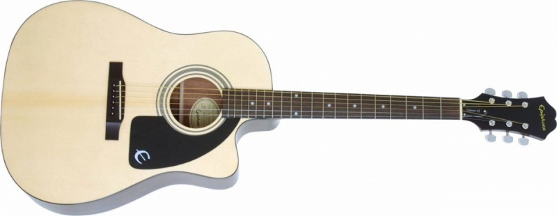 Электроакустическая гитара EPIPHONE AJ-100CE (PASSIVE) NATURAL CH HDWE