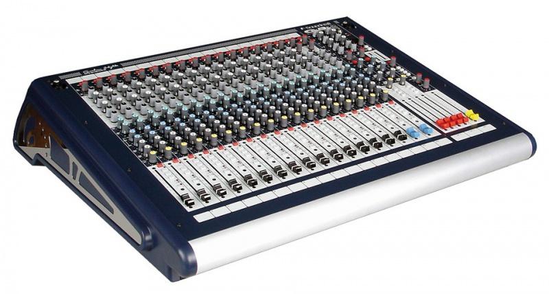 Микшерный пульт Soundcraft GB2 16ch