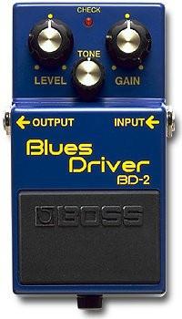 Педаль эффектов Boss BD2 Blues Driver