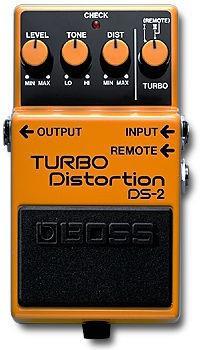 Педаль эффектов Boss DS-2 TURBO Distortion