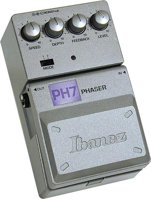 Педаль эффектов IBANEZ PH7 PHASER