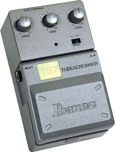 Педаль эффектов IBANEZ TS7 TUBESCREAMER