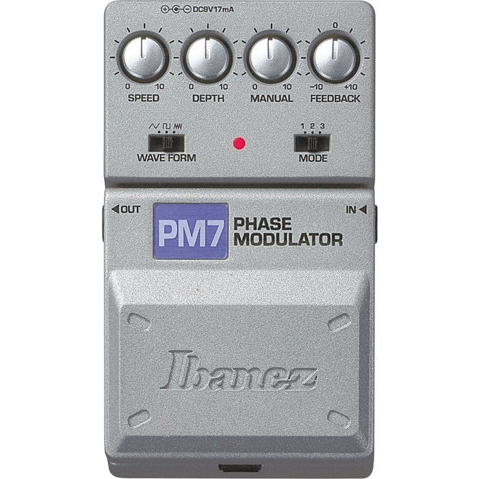 Педаль эффектов IBANEZ PM7 PHASE MODULATOR