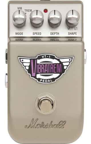 Педаль эффектов MARSHALL THE VIBRATREM VT-1