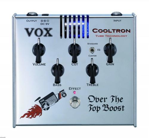 Педаль эффектов VOX COOLTRON OVER THE TOP BOOST
