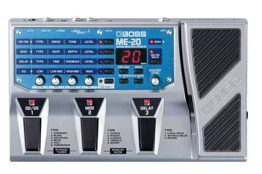 Гитарный процессор Boss ME20