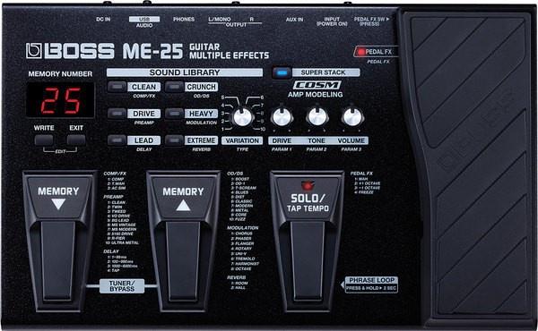 Гитарный процессор Boss ME25