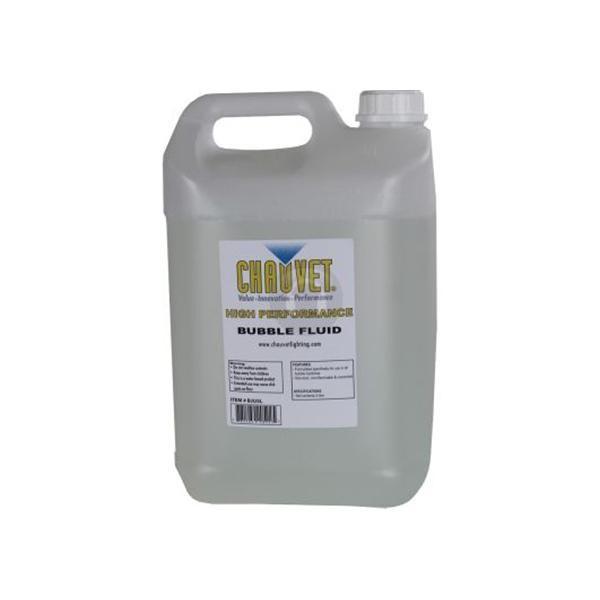Жидкость для bubble машин CHAUVET BJ5 BUBBLE FLUID 5L