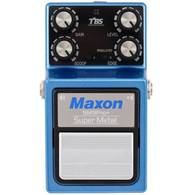Педаль эффектов MAXON SM9PRO+ SUPER METAL