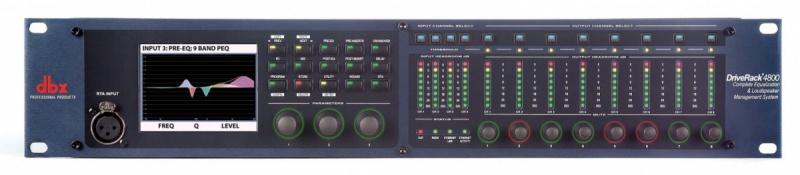 Акустический процессор Dbx DriveRack 4800