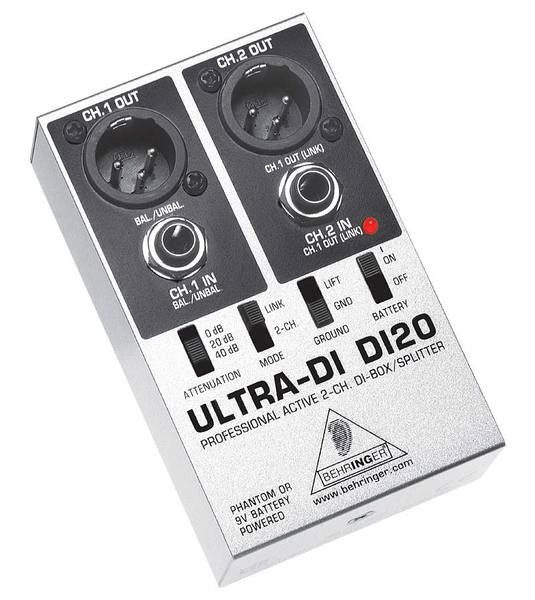 DI Box Behringer DI20 ULTRA-DI