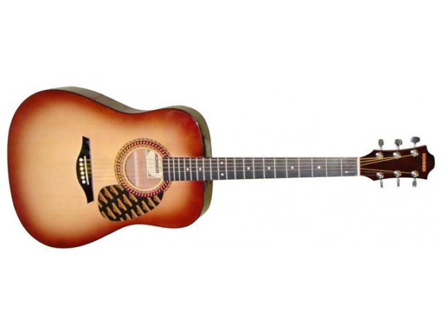 Акустическая гитара HOHNER HW220-SB