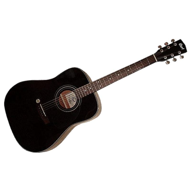 Акустическая гитара CORT AD880 BK