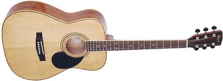 Акустическая гитара CORT AF580 NAT