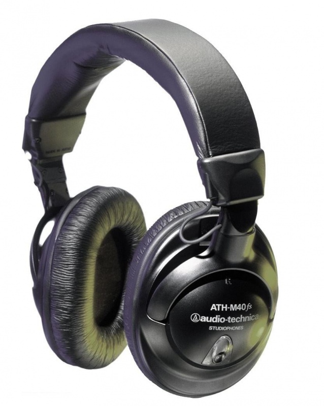 Студийные наушники AUDIO-TECHNICA ATH-M40fs