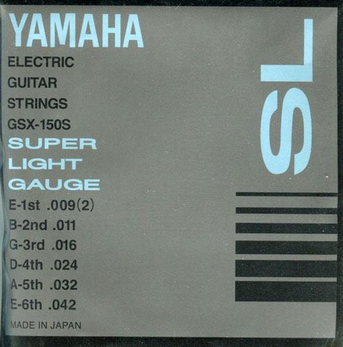 Струны для электрогитары YAMAHA GSX150S