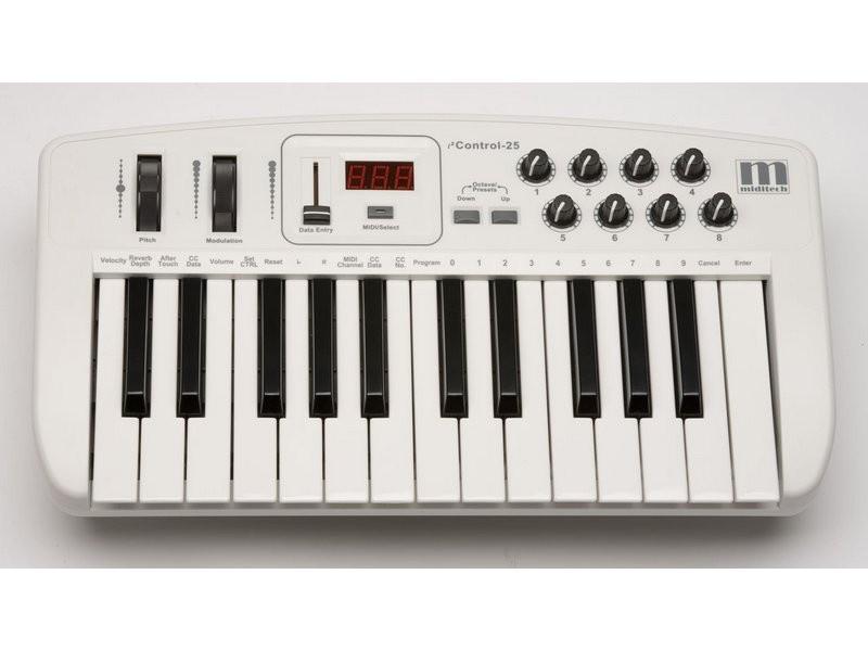 Миди-клавиатура MIDITECH i2 Control-25