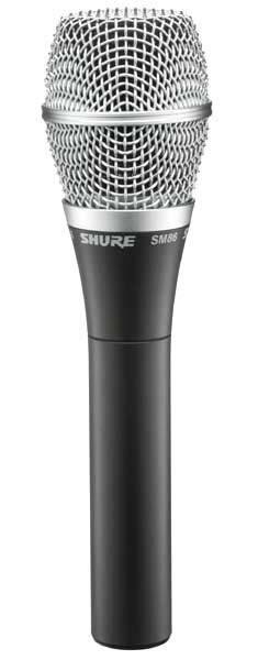 Студийный микрофон SHURE SM86
