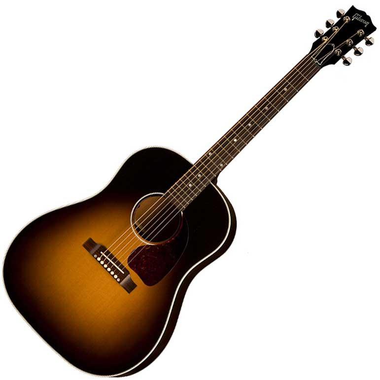 Электроакустическая гитара GIBSON J-45 VINTAGE SUNBURST