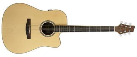 Электроакустическая гитара STAGG NA30CBB