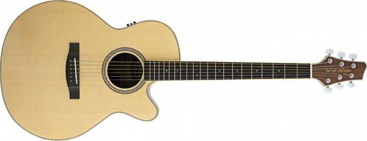 Электроакустическая гитара STAGG NA30MJCBB