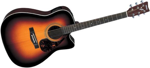 Электроакустическая гитара YAMAHA FX370C TBS