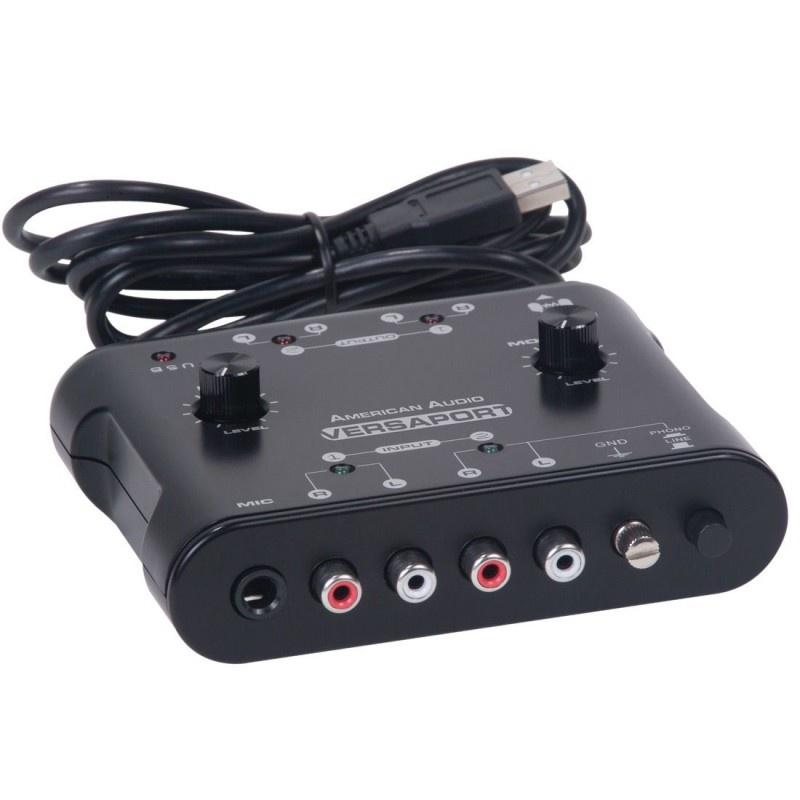 Аудиоинтерфейс American Audio VersaPort