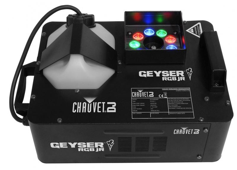 Генератор дыма CHAUVET Geyser RGB Jr