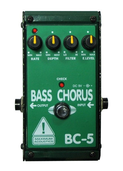 Педаль эффектов MAXIMUM ACOUSTICS BC-5 BASS CHORUS