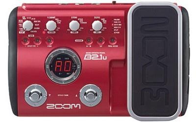 Гитарный процессор ZOOM B2.1U