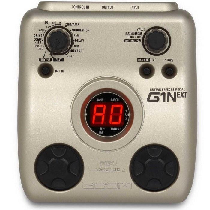 Гитарный процессор ZOOM G1N