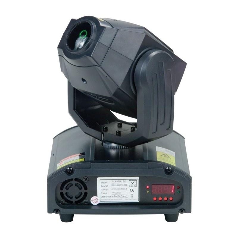 Вращающаяся голова American Audio X-Move Laser 30