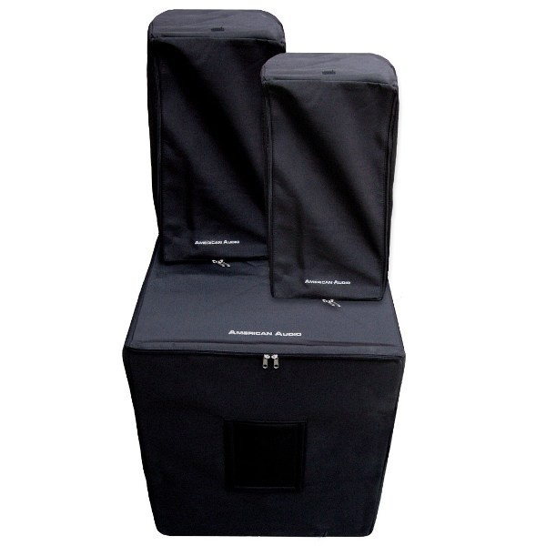 American Audio Soft case Set for Tri Pack