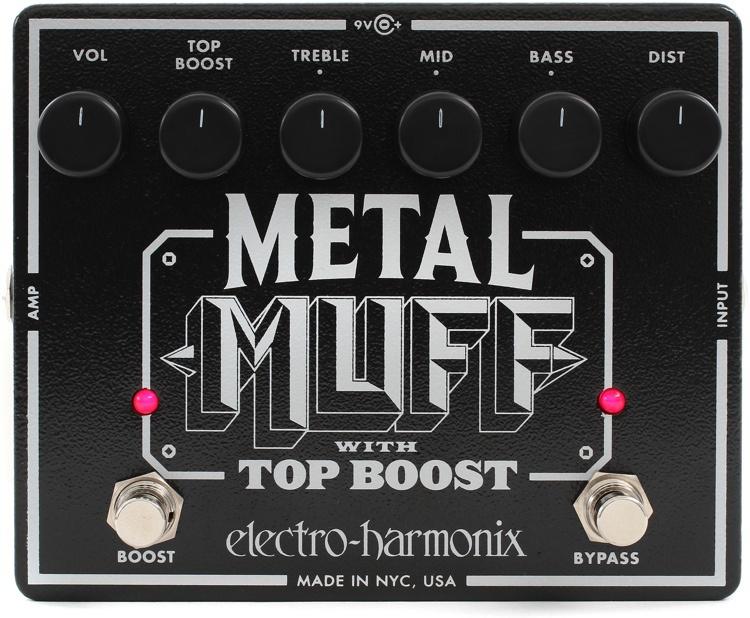 Педаль эффектов Electro-Harmonix Metal Muff