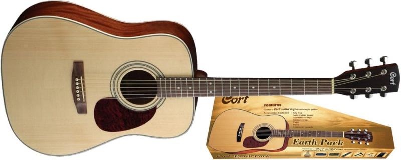 Гітарний набір CORT EarthPack NS