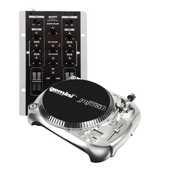 Комплект DJ оборудования GEMINI VINYL MIX MASTER DJ
