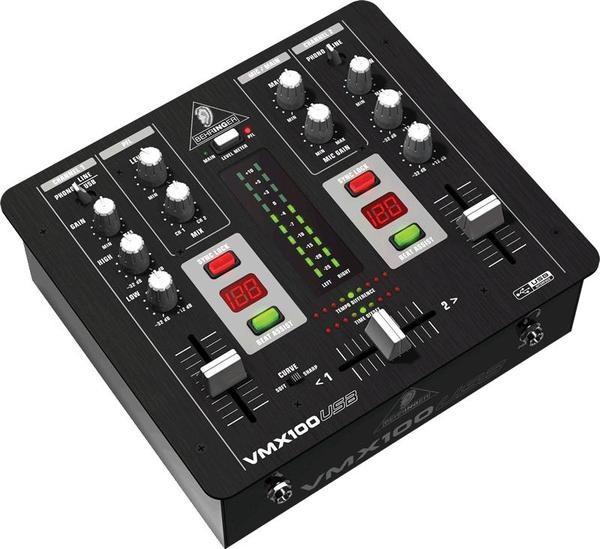 DJ микшерный пульт Behringer VMX100USB