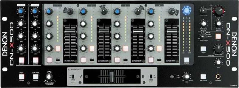 DJ микшерный пульт DENON DJ DN-X500