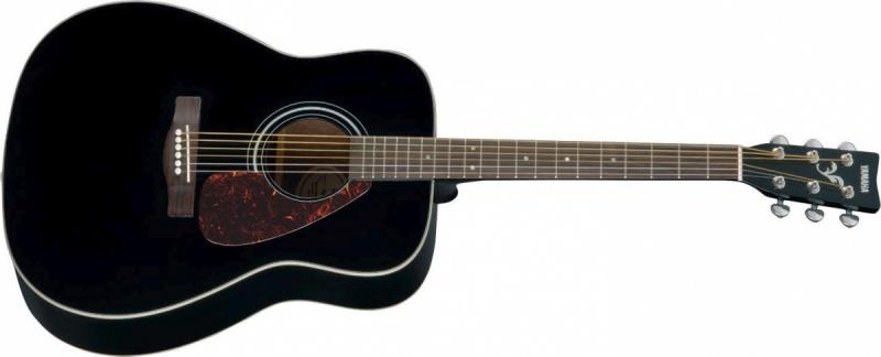 Акустическая гитара YAMAHA F370 BLK