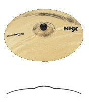 "Тарелка SABIAN 18"" HHX Evolution Crash Brilliant (11806XEB)"