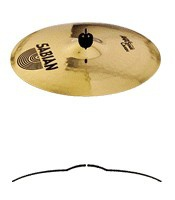 "Тарелка SABIAN 16"" AAX Stage Crash Brilliant (21608XB)"