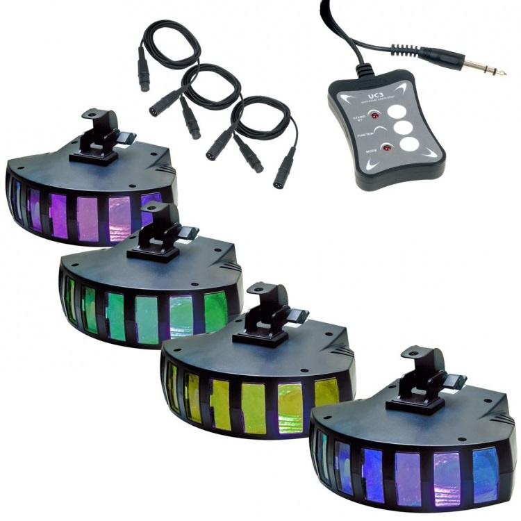 Комплект светоприборов American Audio Saturn Tri LED SYS