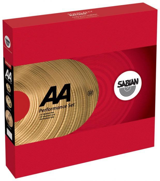 Тарелка SABIAN AA Performance Set (25005NB)